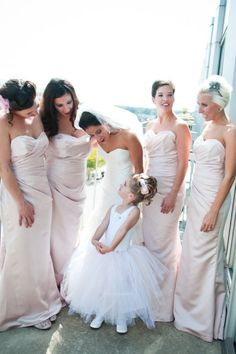 bridesmaids dresses by Impression .....and TUTU!!