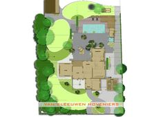 2D tuinontwerp door Van Sleeuwen Hoveniers Veghel, made by André van Sleeuwen & Bart de Jong
