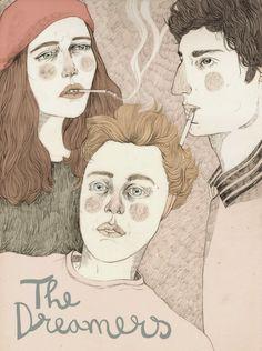 http://annapedreira.blogspot.com.es Ana Pedreira The Dreamers #thedreamers #Illustration