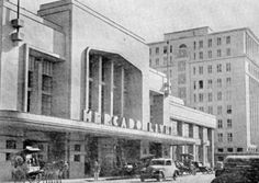 Porto Alegre antigamente: o Mercado Livre (hoje Mercado Público).