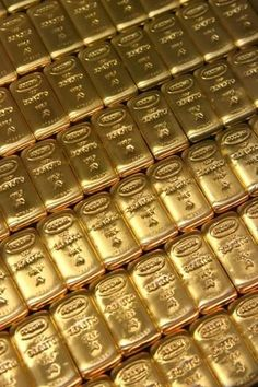 Photographic Print: Russian Gold Bullion by Ria Novosti : Gold Bullion Bars, Bullion Coins, Silver Bullion, Money Stacks, Gold Money, Gold Aesthetic, How To Get Rich, Silver Coins, Precious Metals