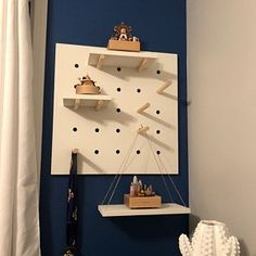Stained Wood Mountain Bookends (large and small set), wooden mountains, children's bookends, mountain blocks, woodland nursery Nerf Gun, Pegboard Display, Display Shelves, Childrens Bookends, Whimsical Bedroom, Ikea, Wooden Bookends, Birch Ply, Cricut