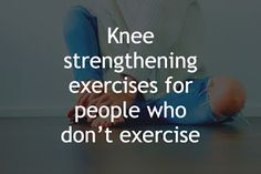 Knee Strengthening Exercises, Sciatica Exercises, How To Strengthen Knees, Quad Stretch, Calf Stretches, Bad Knees, Workout Warm Up, Strength Training Workouts, Knee Injury