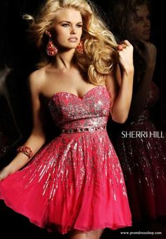 02e196936f0d2 Sherri Hill Short 8413 at Prom Dress Shop Sherri Hill Prom Dresses Short