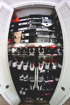 This will be half of my closet (yes I said half the other side would be heels) every girl has two sides to her