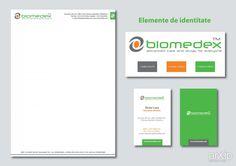"""Biomedex"": графический дизайн, фирменный стиль, корпоративный стиль, фирменный знак, логотип, брендбук, швейцарский, международный #graphicdesign #corporateidentity #corporateidentity #brandname #logo #brandbook #swiss #international arXip.com"