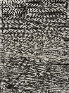 Jennifer Guidi, 'UNTITLED FIELD #13 (BLACK & WHITE)', 2014