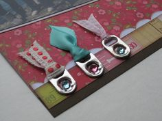 Pop top tabs as ribbon charms...
