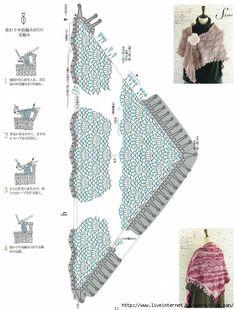 Delicadezas en crochet Gabriela: Chalinas