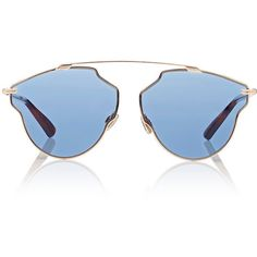 """Dior Women's \""""Dior So Real Pop\"""" Sunglasses ($450) ❤ liked on Polyvore featuring accessories, eyewear, sunglasses, glasses, accessories glasses, christian dior sunglasses, uv protection sunglasses, logo sunglasses, tortoise sunglasses and blue sunglasses"""