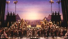 Triumphal Scene: sunrise, Aida, 2001