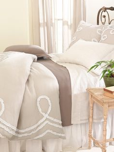 Ruched Linen by Pine Cone Hill