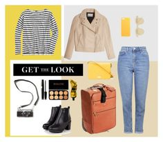 """""""on a trip/ in the fall"""" by rw-74 on Polyvore featuring мода, J.Crew, T By Alexander Wang, Topshop, Dolce&Gabbana, ClaireChase, Gucci, Le Specs и Aesop"""