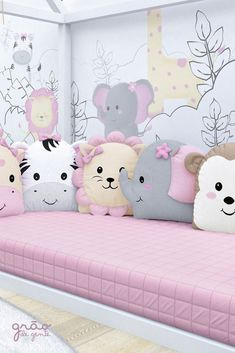 48 Ideas sewing baby nursery kids for 2019 Baby Crib Bedding, Baby Bedroom, Baby Room Decor, Baby Cribs, Girls Bedroom, Nursery Decor, Cute Pillows, Baby Pillows, Sewing Pillows Decorative