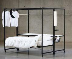 Flexit - pat, birou și dulap într-o singură mobilă | Casă | MagMob