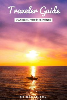 A Complete Travel Guide to Camiguin Island in the Philippines. What to do, where to stay and the best restaurants. Check it out now!