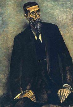 'Porträt von Francesco Iturrino', öl auf leinwand von André Derain (1880-1954…