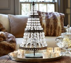 Faceted Crystal Tree | Pottery Barn