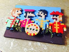 The Beatles in Sgt Peppers perler beads by Echilon on  deviantART