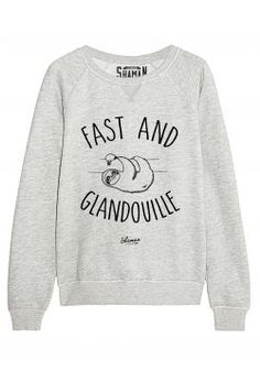 "Sweat ""Fast and Glandouille"""