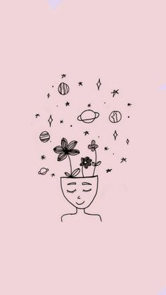 35 Cool Easy Whimsical Drawing Ideas // Things to draw, eye drawing, easy drawing ideas Cute Wallpaper Backgrounds, Tumblr Wallpaper, Aesthetic Iphone Wallpaper, Pink Wallpaper, Aesthetic Wallpapers, Cute Wallpapers, Galaxy Wallpaper, Disney Wallpaper, Easy Drawings