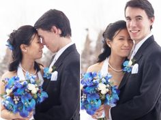 Denver Wedding Photography II Daniel Swanson II Lilywinkel flowers blue flowers blue wedding orchids