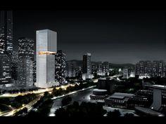 OMA gana competencia de rascacielos en China