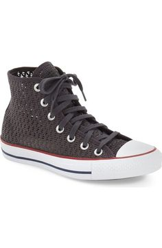 Converse Chuck Taylor® All Star® Crochet High Top Sneaker (Women) available at #Nordstrom