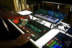 Roland TR-8, TB-3, Synth-1.