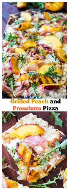 Grilled Peach and Prosciutto Pizza makes for a perfect summer meal but to successfully make a grilled pizza you will first need to know a few tricks. Learn everything you need to know here!