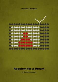 Requiem for a Dream Requiem For A Dream, Creations, Movie Posters, Movies, Posters, Display, Backgrounds, Films, Film Poster