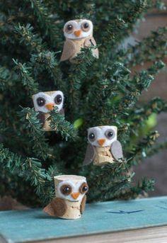OWL Eule Schmuck besondere Weihnachtsdeko Strass Glitzer Kristall X-Mas XMAS