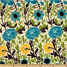 {Fabric.com} Premier Prints Indoor/Outdoor Mingei Blue Moon Our Price: $8.98 per Yard  Compare At: $13.99 per Yard
