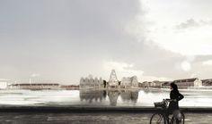 COBE Chosen to Develop Christiansholm Island in Copenhagen,© COBE and Luxigon