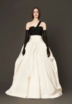 Vera Wang Wedding Dresses for Older Brides