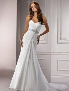 Maggie Sottero - Sweetheart A-Line Gown in Silk