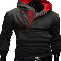 6colors M-5XL 2016 Hoodies Men Sweatshirt Male Tracksuit Hooded Jacket Casual Sports Hooded Jackets moleton Assassins Creed