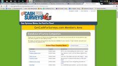 Get Cash For Surveys-I tried it&.Should You ???