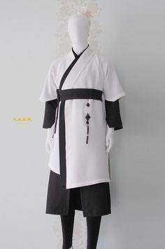 유니섹스 천의답호 남자생활한복 신한복 스타일 : 네이버 블로그 Japanese Outfits, Korean Outfits, Japan Fashion, China Fashion, Traditional Fashion, Traditional Dresses, Chinese Clothing For Men, China Mode, Alternative Outfits