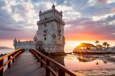 These Are Lisbon's Most Beautiful Buildings  Get there early morning for best photo opportunities!