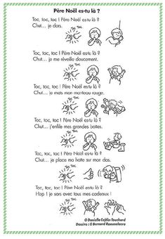Père Noel es tu là ? Noel French, French Christmas, Christmas Fun, French Teaching Resources, Teaching French, French Poems, Xmas Songs, Christmas Concert, French Classroom