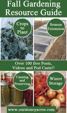 The Fall Gardening Resource Guide is a list of over 100 blog posts, videos and…