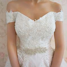 Handmade Rhinestone Wedding/Special Occasion Sashes – USD $ 11.99