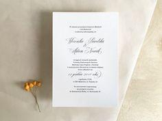 zaproszenie ślubne proste słowa 2