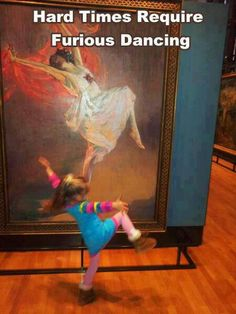Life Imitates Art, awesome daughter. Kirsty Kelly / Flickr.