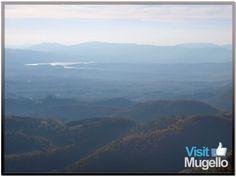 Vista da Monte Altuzzo, Scarperia
