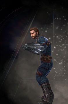 Capt America Steve Rogers Superhero