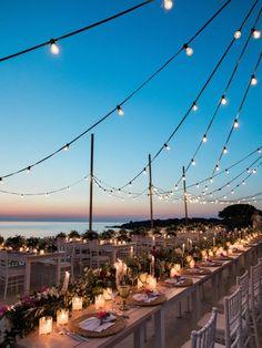 A Beautiful Destination Wedding in Greece: Part 2 - Destination Hochzeit Romantic Wedding Receptions, Romantic Weddings, Wedding Events, Wedding Ceremony, Wedding Film, Wedding Venues Beach, Wedding Ideas, Beautiful Wedding Venues, Wedding Quotes