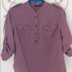 I just added this to my closet on Poshmark: A.N.A. Medium Tunic with Convertible Sleeves Mauve. Price: $18 Size: M