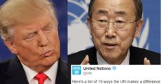 Donald Trump Just Insulted The United Nations, And Their Response Is Perfect